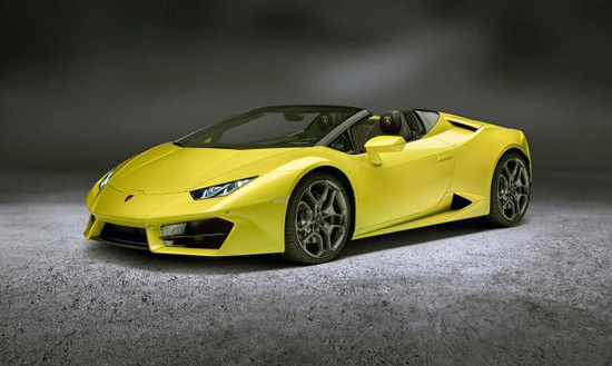 Rear-Wheel Drive And Wind In Your Hair: Huracan LP580-2 Spyder