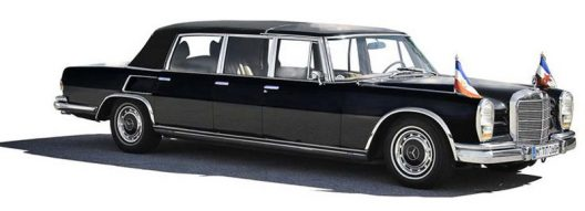 Mercedes-Benz 600 Pullman Landaulet 1967 Six Door