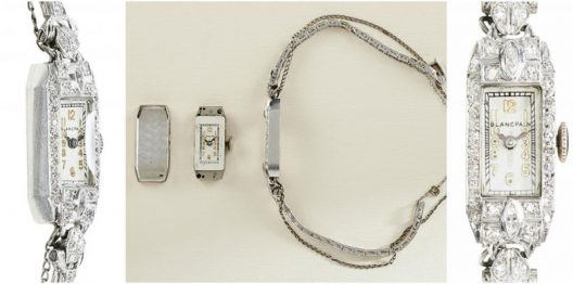 Marilyn Monroe's Blancpain Platinum and Diamond Watch