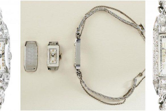 Marilyn Monroe's Blancpain Platinum and Diamond Watch