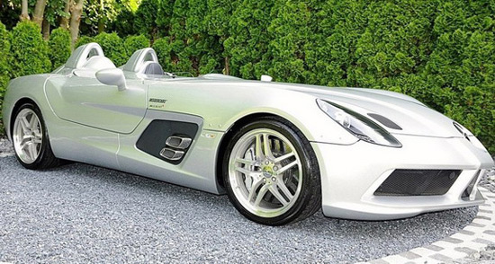 Mercedes SLR Stirling Moss Is More Expensive Than Bugatti Chiron
