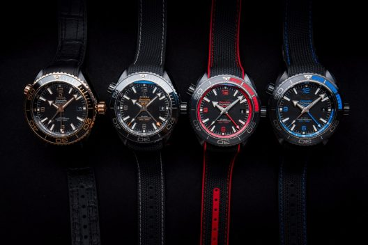 "Omega Seamaster Planet Ocean ""Deep Black"" Collection"