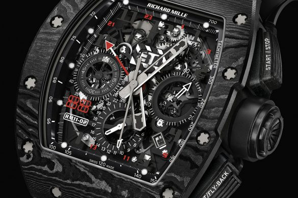 Richard Mille RM 11-02 Automatic Flyblack Chronograph Dual Time Zone Jet Black