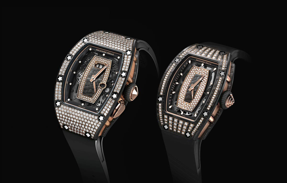 Richard Mille's RM 07-01 AND RM 037