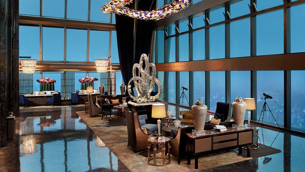 The St Regis Shenzhen Hotel Extravaganzi