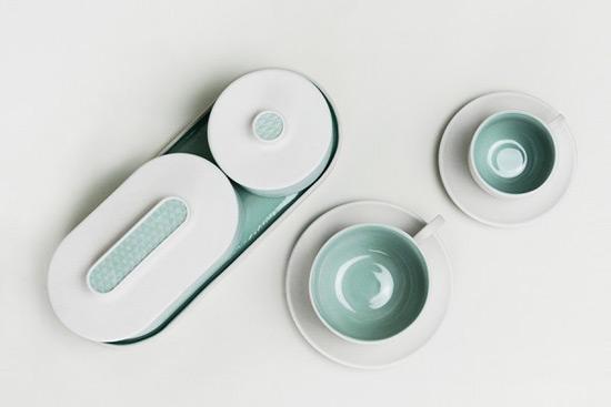 3D Tea Set