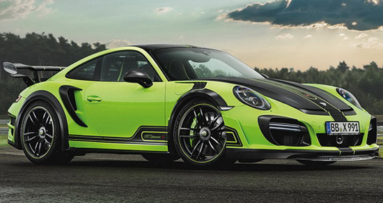 New Green Monster From TechArt
