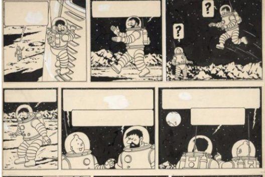 """Tintin Adventure """"Explorers on the Moon"""""""