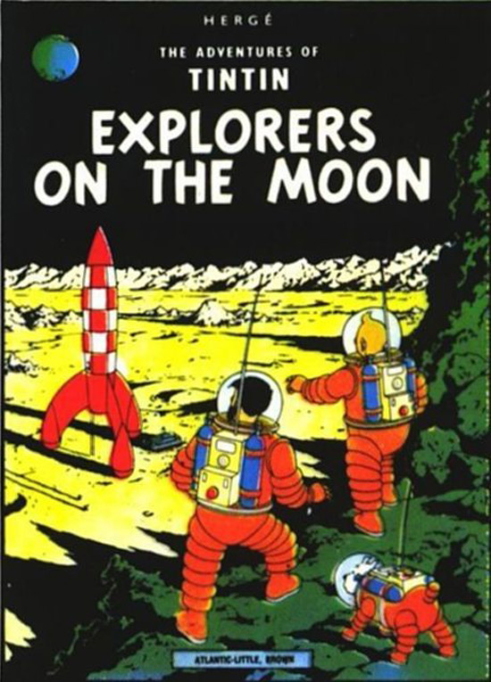"Tintin Adventure ""Explorers on the Moon"""