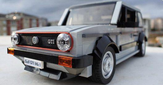 Lego Volkswagen Golf GTI