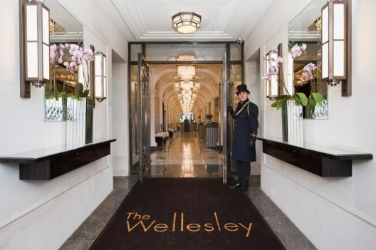 Churchill Afternoon Tea At London's Wellesley Hotel