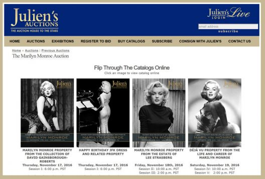 World's Largest Marilyn Monroe Collection