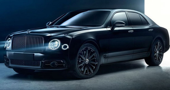 Bentley Mulsanne Speed Bamford