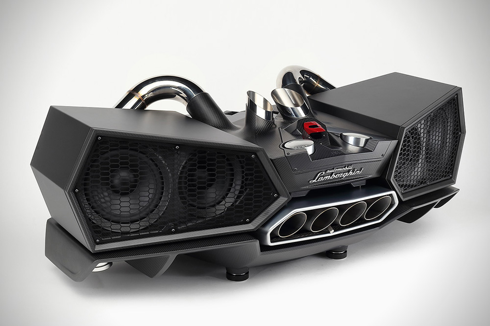 Esavox Carbon Fibre Docking Station Speaker