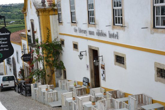 "Hotel ""The Literary Man"" in Obidos"
