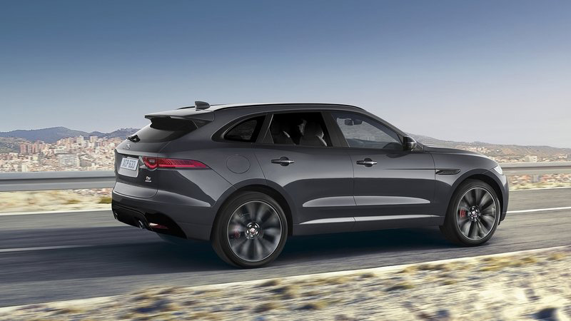 Unique Jaguar F-Pace Sold For £102,500