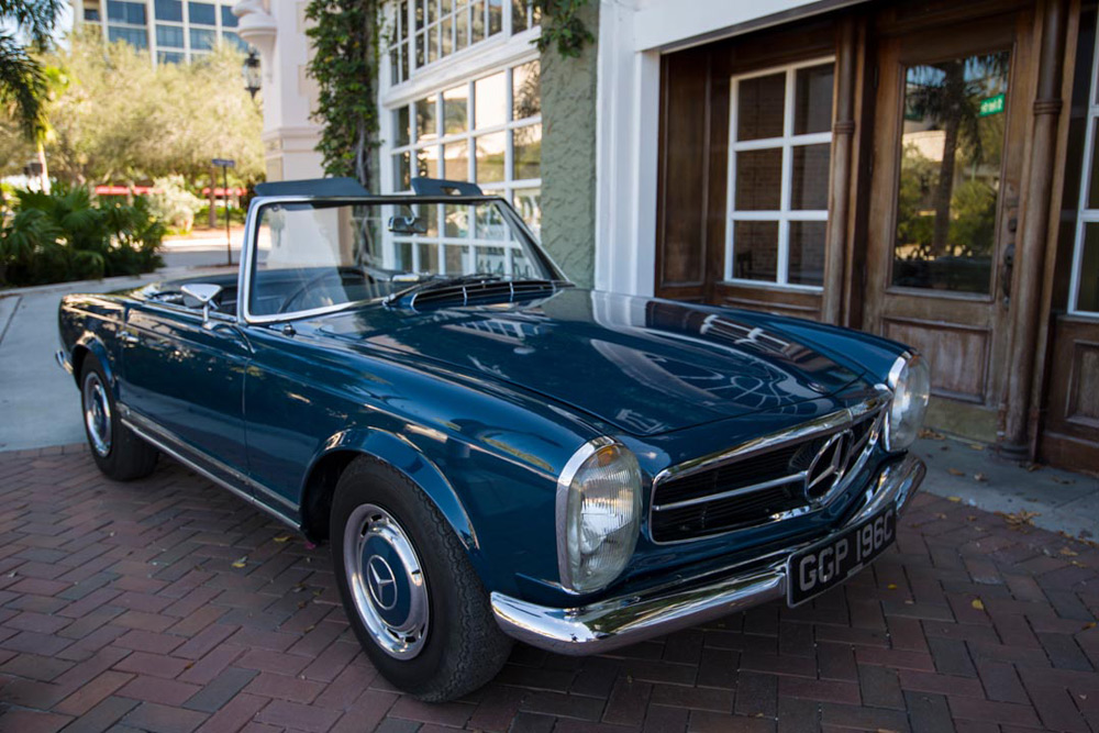 John Lennon's Mercedes-Benz 230SL Goes Under The Hammer