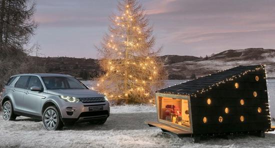 Land Rover Home for Santa