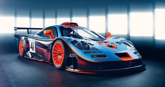 Homage To McLaren F1 GTR Longtail