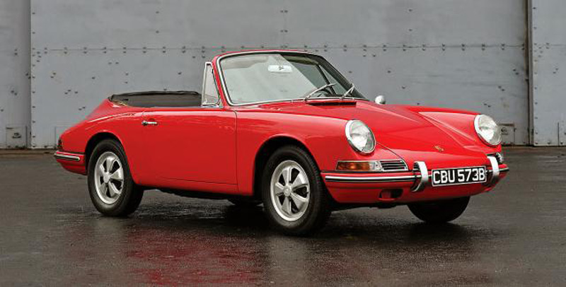 Pearl Of The Auction: First Porsche 911 Cabrio