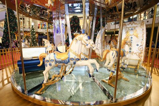 Swarovski Crystalized Carousel