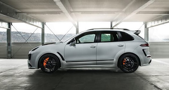 TechArt Porsche Cayenne Magnum Sport With 720hp