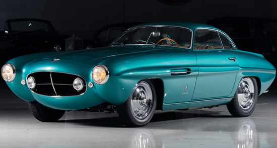1953 Fiat 8V Supersonic Goes Under The Hammer