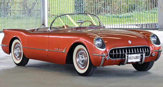 1955 Chevrolet Corvette At Auction