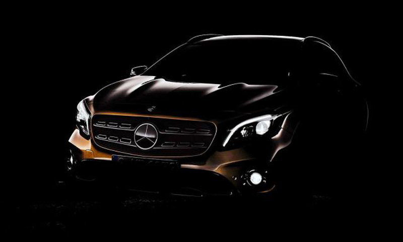 First Photo: Mercedes GLA For 2017