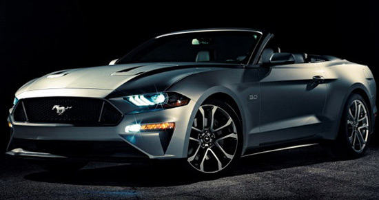 2018 Ford Mustang Cabrio