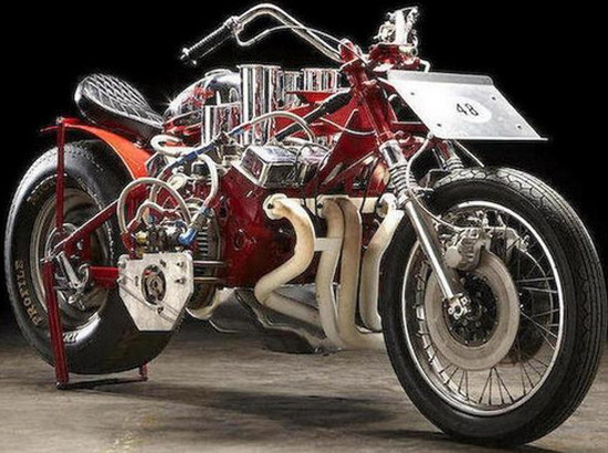 Sometimes World's  Fastest Motorcycle, Had A Car Engine
