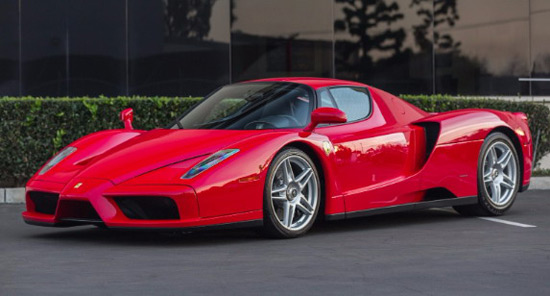 Ferrari Enzo Worth Four Million Dollars