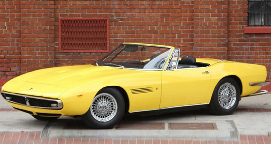 Maserati Ghibli Spyder Sold For $920,000