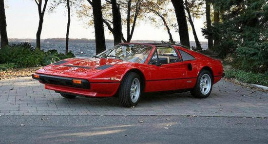 "Ferrari 308 GTS From ""Magnum, P.I."" Sold for $181,500"