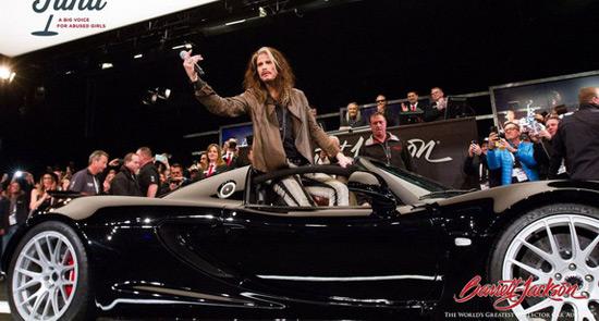 Steven Tyler's Hennessey Venom GT Spyder Sold For $800,000