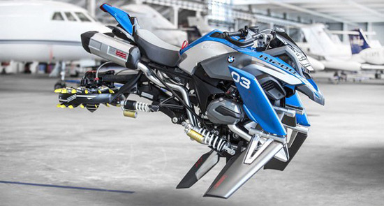 Flying Motorcycle by BMW And LEGO