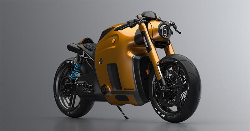 Koenigsegg Motorcycle by 3D Designer Maxim Burov