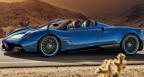 Pagani Huayra Roadster Officially