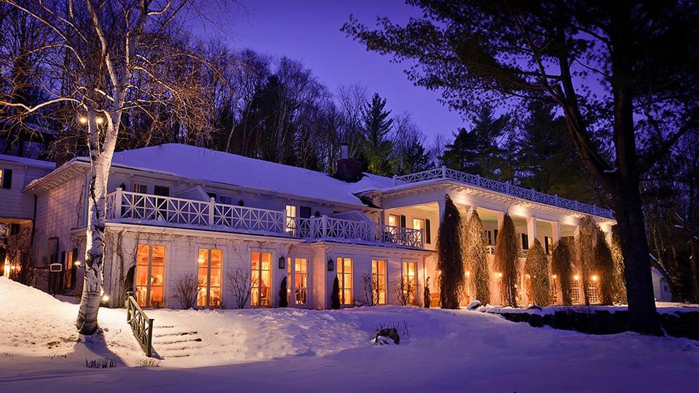 Manoir hovey luxury hotel on lake massawippi extravaganzi for Design hotel quebec
