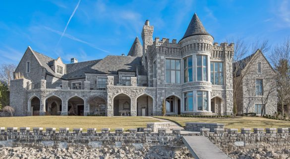 Camelot Castle Replica On Weatherby Lake On Sale For 7 8