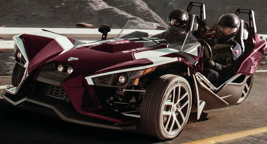 Polaris Slingshot Midnight Cherry Edition