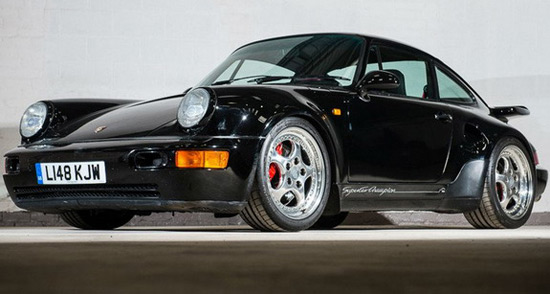 Rare Porsche 911 Leichtbau Goes Under The Hammer