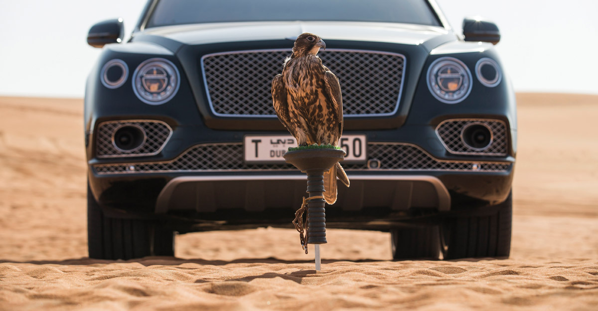 New Bentayga Falconry by Mulliner