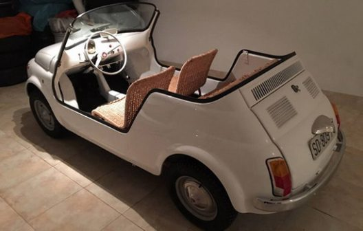 Tito'S Auto Sales >> Fiat 500 Jolly Owned By President Josip Broz Tito Of