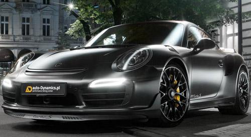 Dark Knight Porsche 911 Turbo S