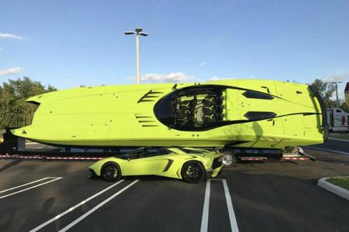 Unique Package – Lamborghini And Catamaran For $2.2 Million