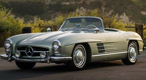 Mercedes 300SL Roadster To Be Sold For More Than $1 Million