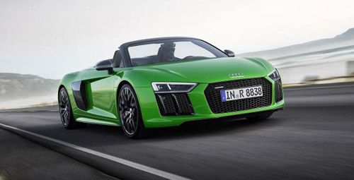 Audi Introduced Fastest Production Convertible So Far