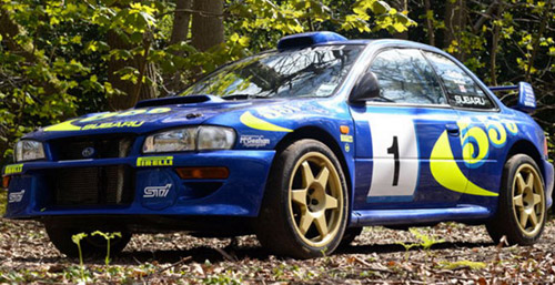 Legendary Impreza Colin McRae Sold At Auction