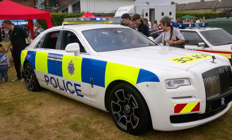 Rolls-Royce Ghost Police Car